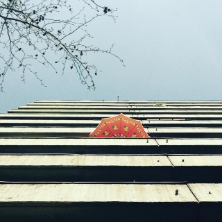 #lookingup ☀️🌂 #berlin