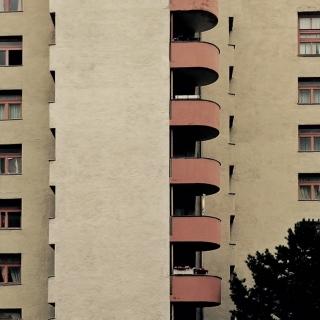 Ich mag runde Balkone.