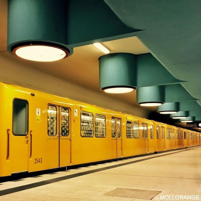 Elektrische Untergrundbahn.